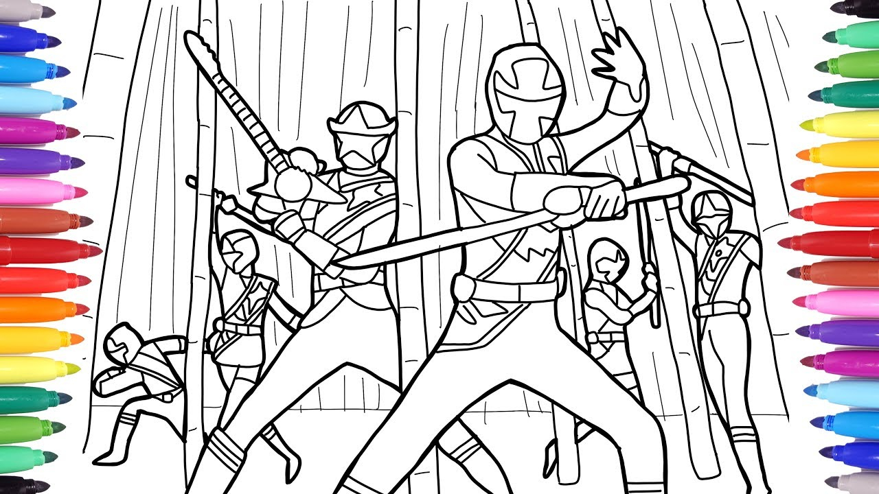 - 21+ Brilliant Picture Of Power Ranger Coloring Pages - Birijus.com