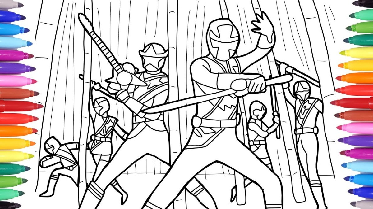 Power Rangers Coloring Pages for Kids, Power Rangers Coloring ...   675x1200