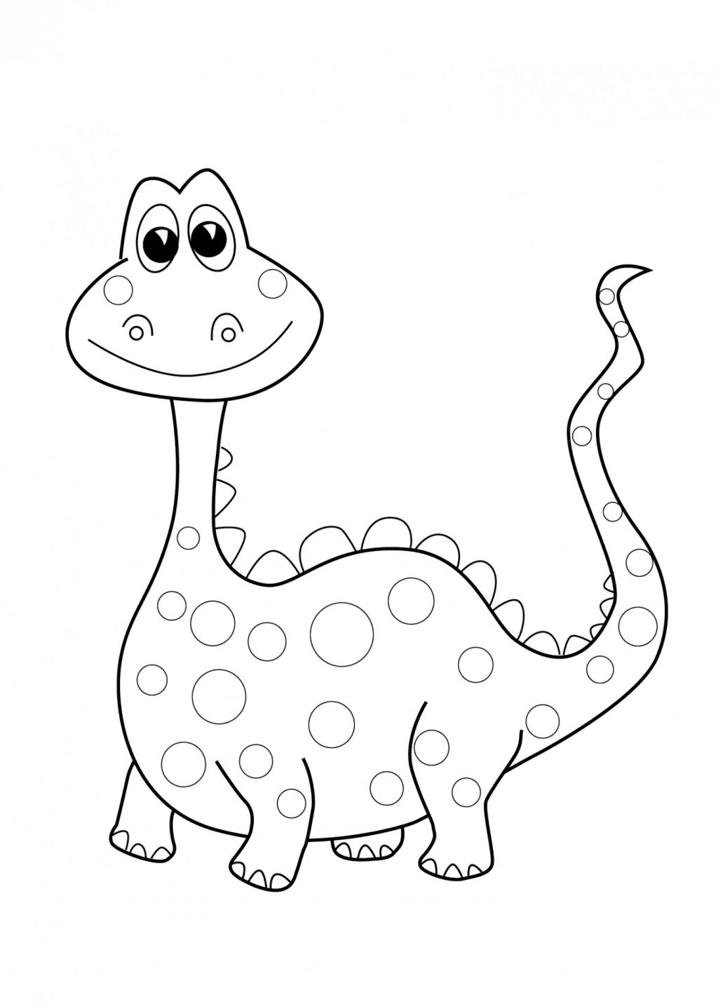 - Preschool Coloring Pages Coloring Page Coloring Page Dinosaur