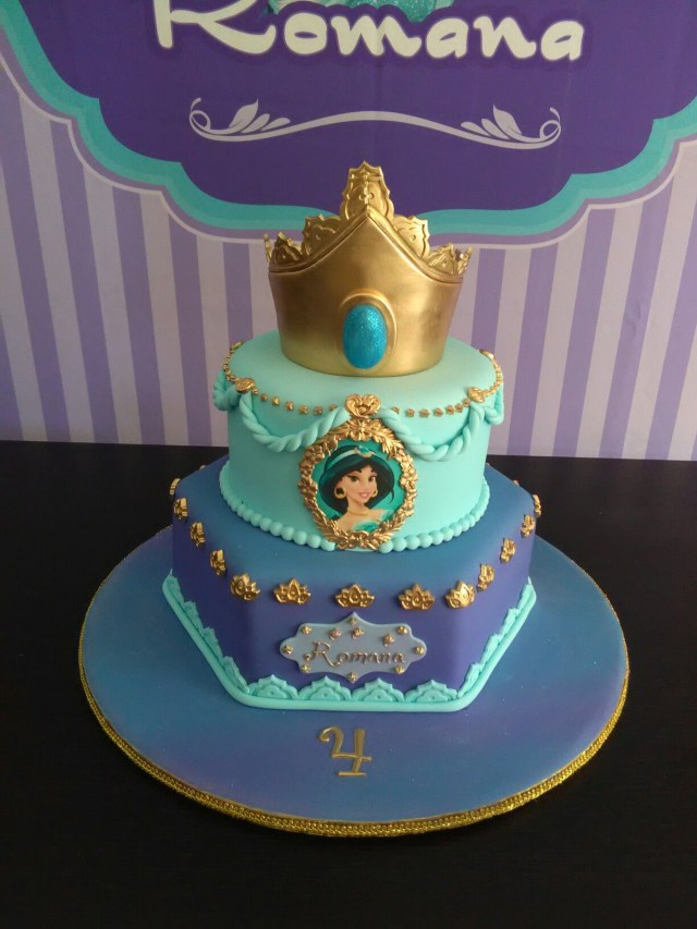 Princess Jasmine Birthday Cake Princess Cake Romanas Cake Jasmine Cake Let Them Eat Cake