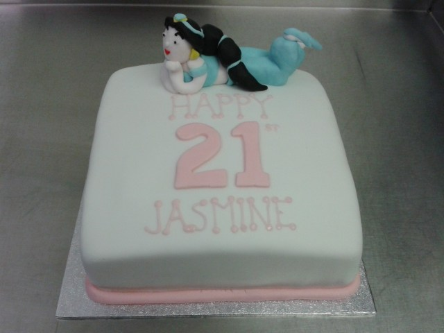 Princess Jasmine Birthday Cake Princess Jasmine Aladdin 21st Birthday Cake Crumbs Cake Shop