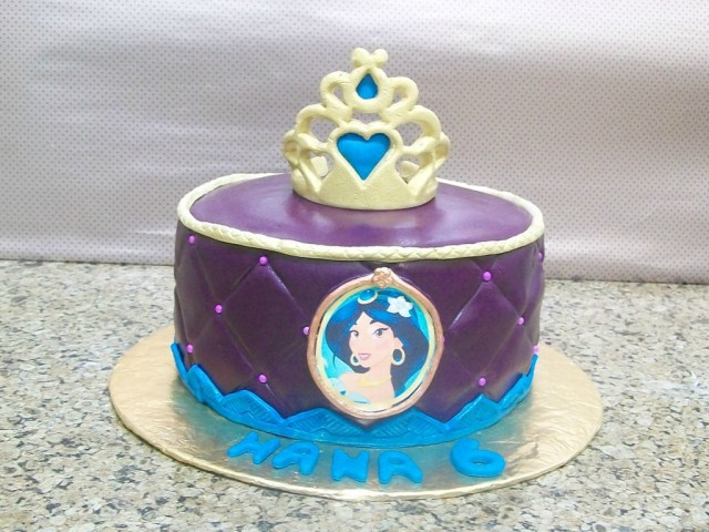 Princess Jasmine Birthday Cake Princess Jasmine Cake Decorating Photos