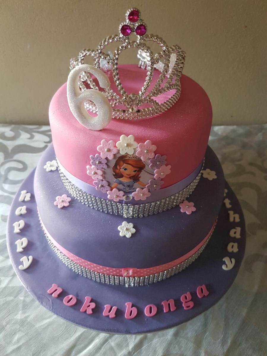 21+ Inspiration Picture of Princess Sofia Birthday Cake