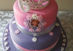Princess Sofia Birthday Cake Princess Sofia Birthday Cake Shonga Events Shongaevents