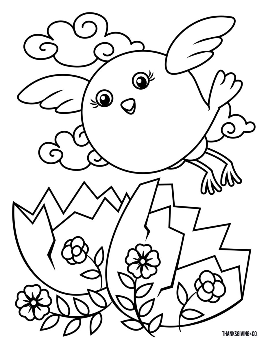 Printable Easter Coloring Pages 8 Free Printable Easter Coloring Pages Your Kids Will Love