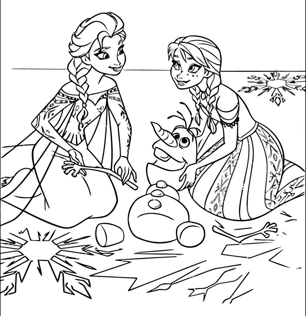 - Printable Frozen Coloring Pages Coloring Page Astonishing Frozen