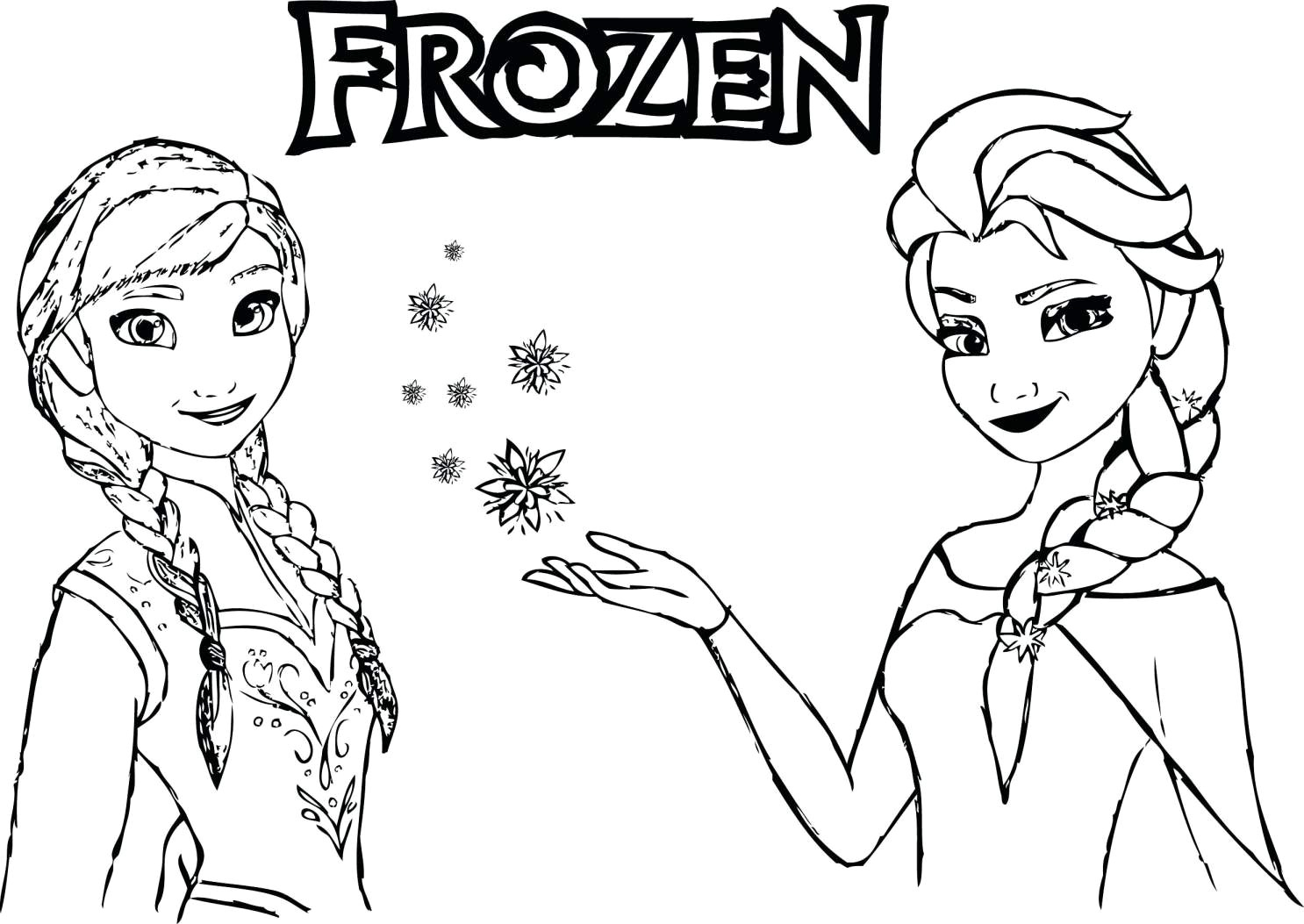 - Printable Frozen Coloring Pages Frozen Princess Coloring Pages