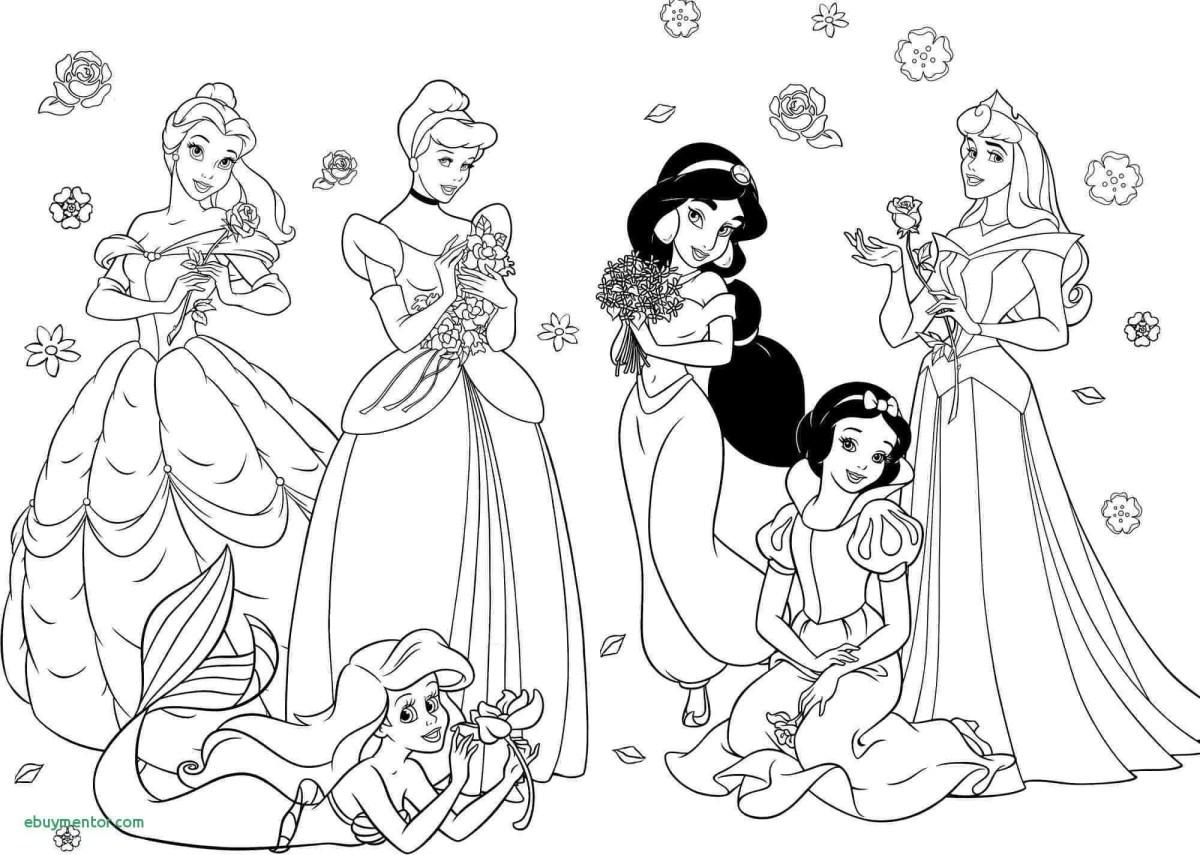 Printable Princess Coloring Pages Princess Ariel Printable