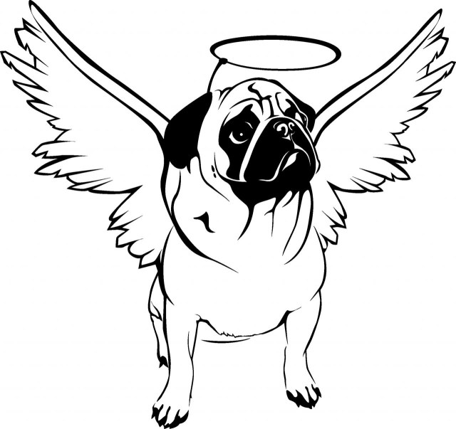 Pug Coloring Pages Pug Coloring Pages Best For Kids Amazing Pugs With Page Coloring Pages