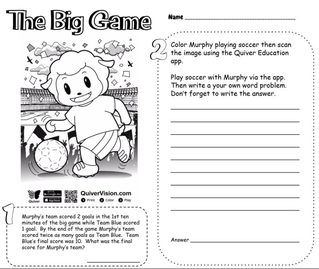 Quiver Coloring Pages Diary Of A Techie Chick Solving Word Problems Via Quiver