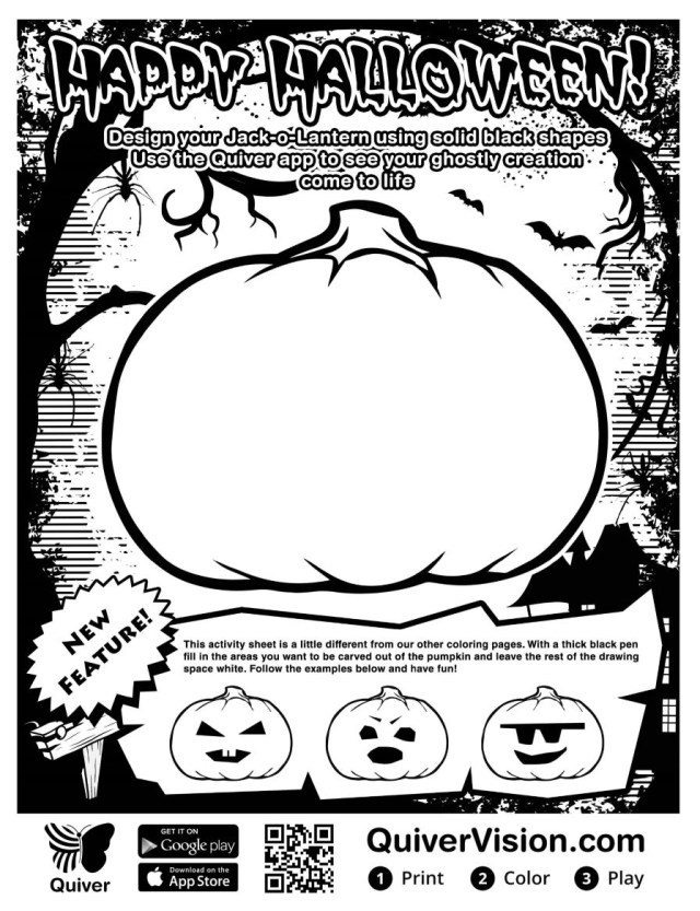 Quiver Coloring Pages Diary Of A Techie Chick Writing Scary Stories With Quiver