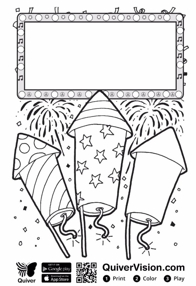 Quiver Coloring Pages Quiveredu Ambassador Jonathan Jones Quivervision 3d Augmented