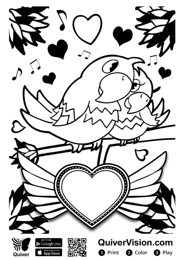 Quiver Coloring Pages The Library Voice Augmented Reality Quiver Coloring Sheets Are A