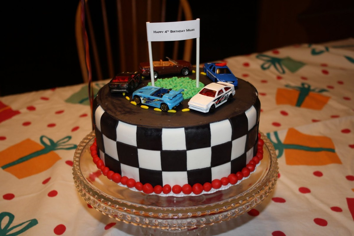 Surprising Race Car Birthday Cake Michelles Cakes Cookies And Cupcakes Race Funny Birthday Cards Online Elaedamsfinfo