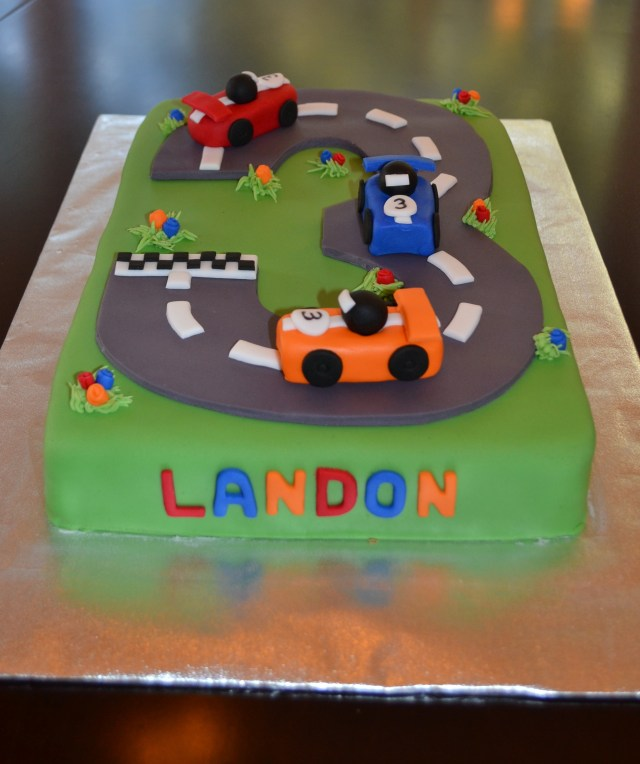 Race Car Birthday Cake Race Car Cake