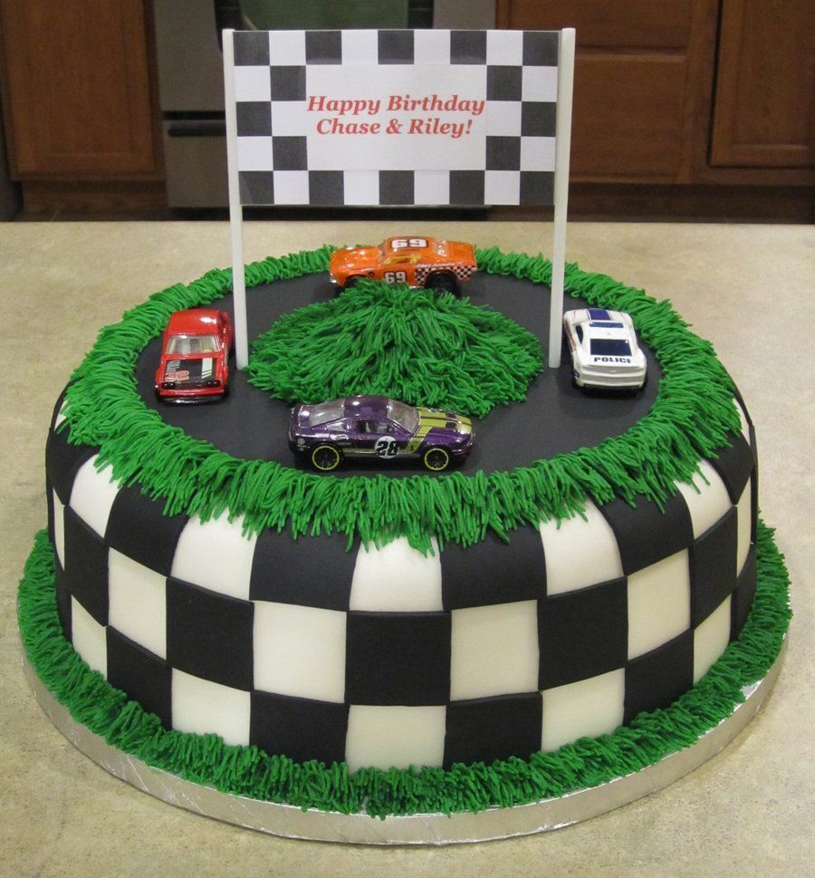 30+ Marvelous Photo of Race Car Birthday Cake
