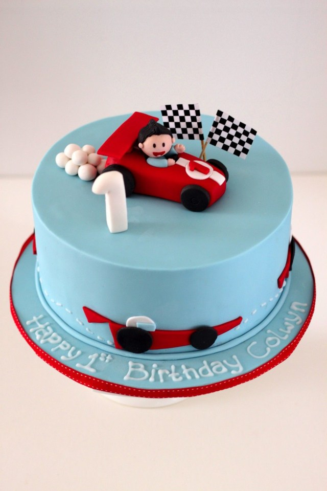 Race Car Birthday Cake Racing Car Birthday Cake Vehicle Cakes Pinterest Birthday