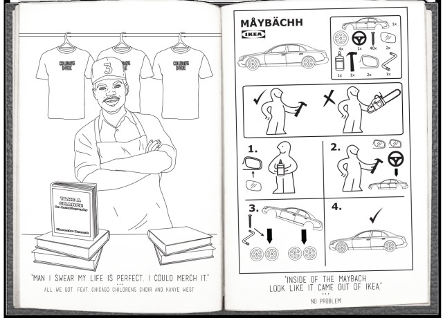 Rapper Coloring Pages Heres Very Literally A Chance The Rapper Coloring Book For You