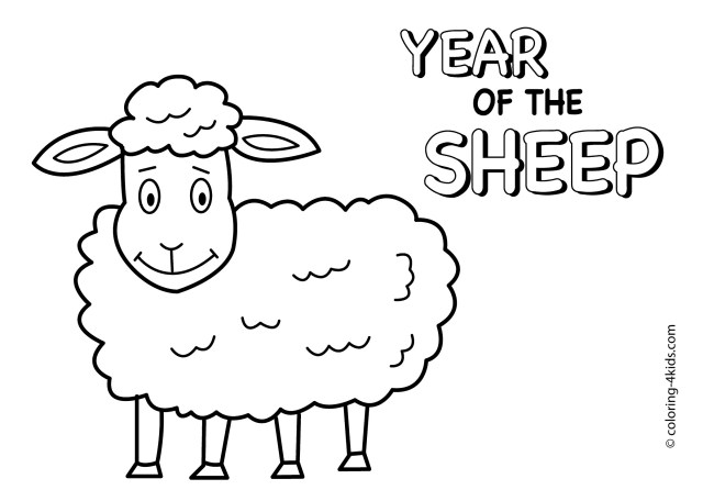 Sheep Coloring Page Sheep Outline Drawing At Getdrawings Com Free For Personal Use