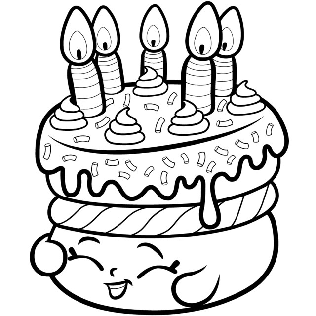 Shopkins Coloring Pages To Print Shopkins Coloring Pages Best Coloring Pages For Kids