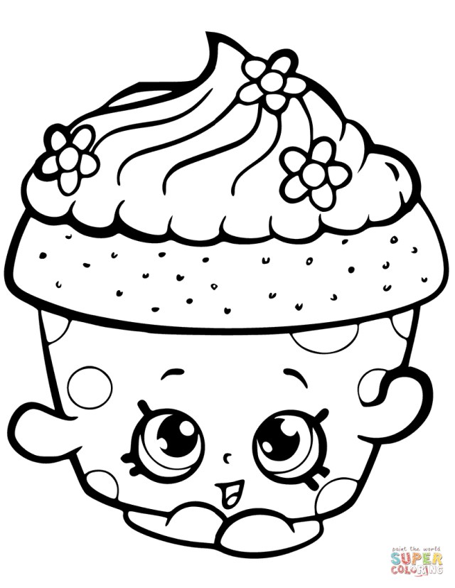 Brilliant Photo Of Shopkins Coloring Pages To Print Birijus Com