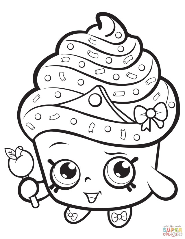 Shopkins Coloring Pages To Print Shopkins Coloring Pages Season 2 Limited Edition Free Shopkins
