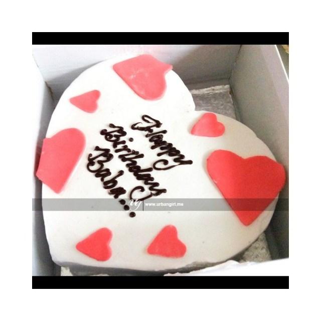 Simple Birthday Cakes Buy Heart Shaped Simple Birthday Cake In Nepal