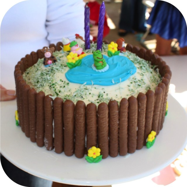 Simple Birthday Cakes Quick And Simple Kids Birthday Cake Ee I Ee I Oh Mouths Of Mums