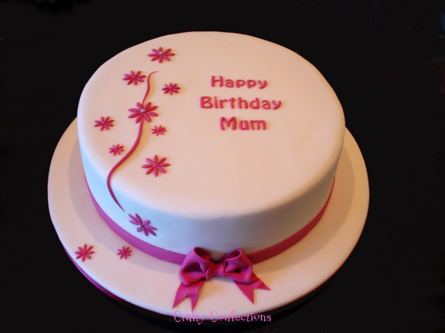Simple Birthday Cakes Simple Last Minute Birthday Cake This Cake Was Ordered On Flickr