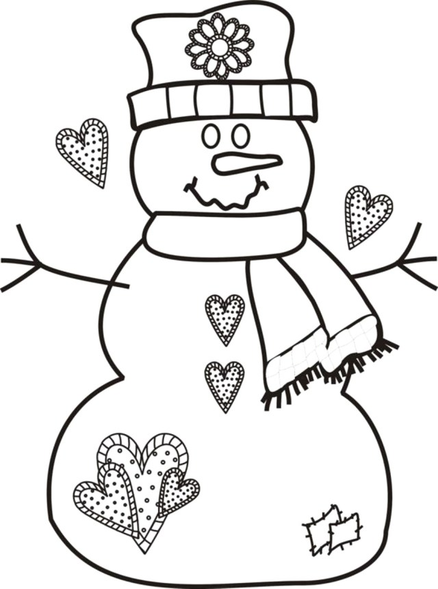 Snowman Coloring Pages Classy Ideas Free Snowman Coloring Pages Now Pictures Of Snowmen To