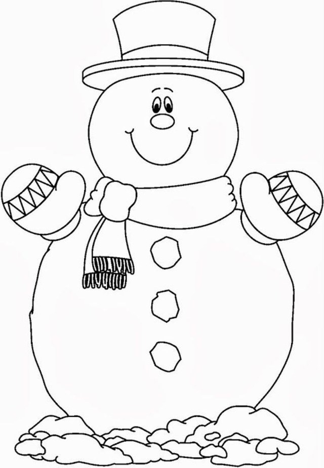 Snowman Coloring Pages Coloring Page Coloring Page Frosty The Snowman Pages Printable