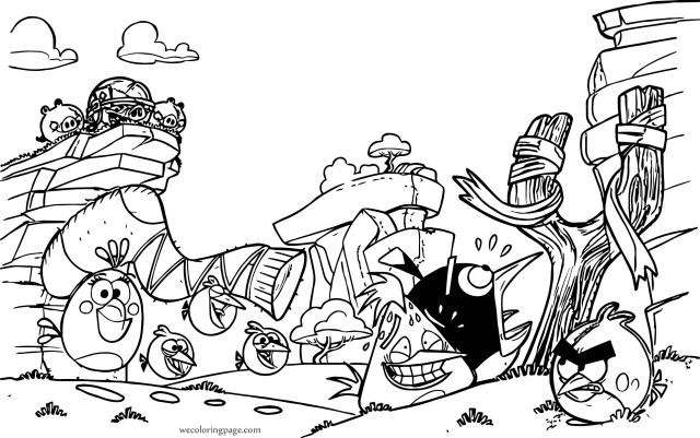 Sock Coloring Page Angry Birds Sock Coloring Page Wecoloringpage