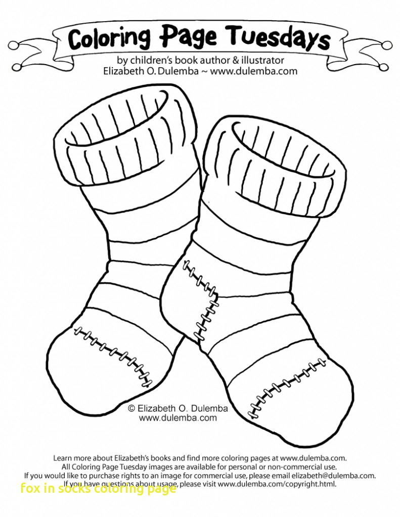 Sock Coloring Page Coloring Pages Sock Page Images