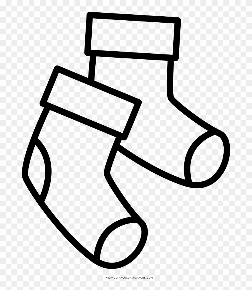 Socks Coloring Page Creative Inspiration Socks Coloring Page