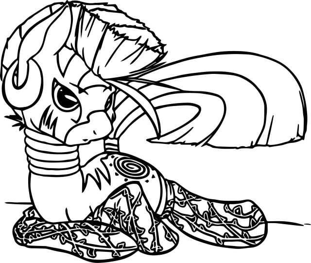 Socks Coloring Page Zecora W Socks Coloring Page Wecoloringpage