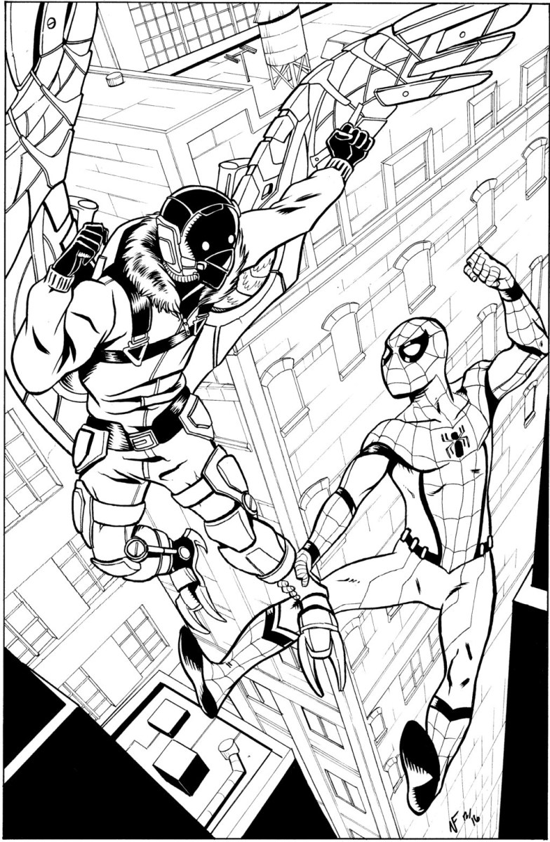 50 Wonderful Spiderman Coloring Pages Your Toddler Will Love | 1200x784
