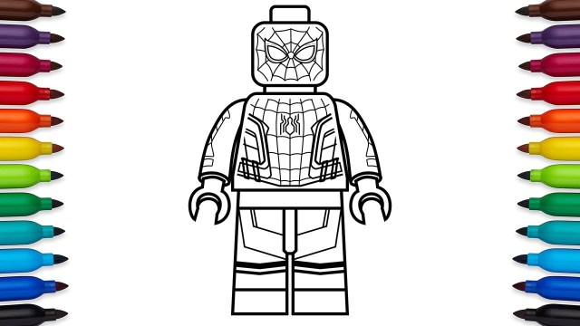 25 Awesome Image Of Spider Man Homecoming Coloring Pages Birijus Com