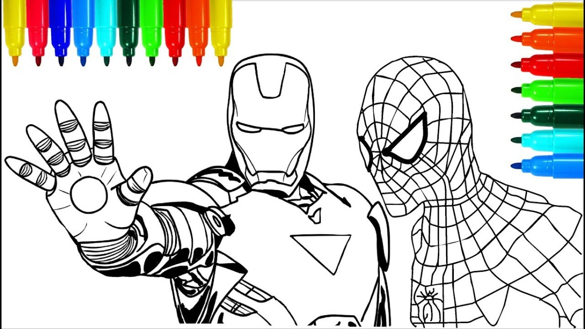 Spider Man Homecoming Coloring Pages Spider Man Homecoming