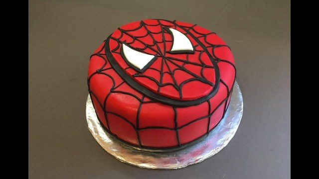 Spiderman Birthday Cakes Spiderman Cake Birthday Boy Tutorial How To Bolo Homem