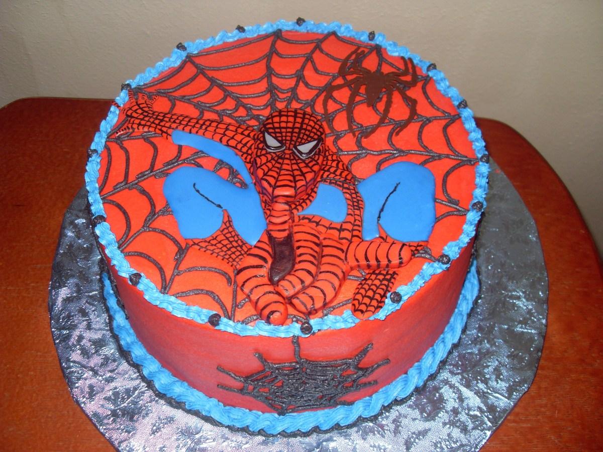 Spiderman Birthday Cakes Spiderman Cakes Decoration Ideas Little Birthday Cakes