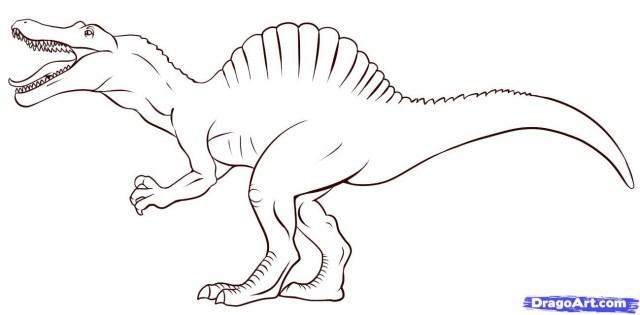 Spinosaurus Coloring Page Dinosaur Coloring Pages Spinosaurus Awesome T Rex Coloring Pages To