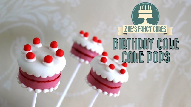 Starbucks Birthday Cake Pop Recipe Pops How To Make Youtube