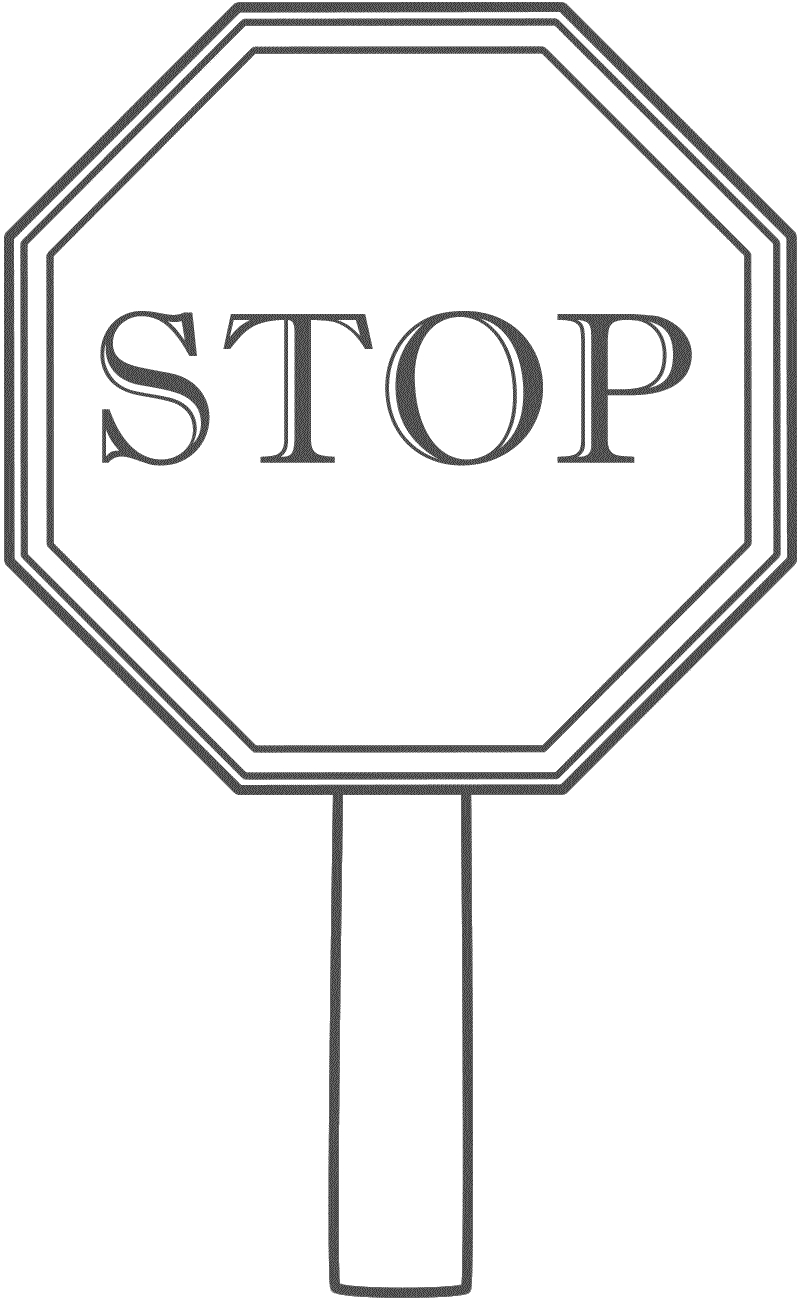 picture relating to Stop Sign Printable named Avoid Indication Coloring Website page End Indication Printable Coloring Sheet