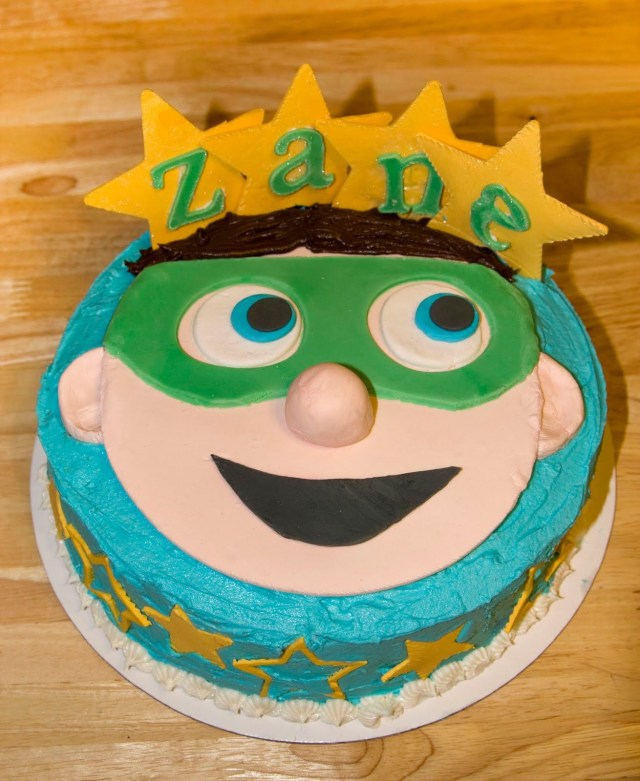 Super Why Birthday Cake Super Why Birthday Cake I Like The Stars With The Name Makennas