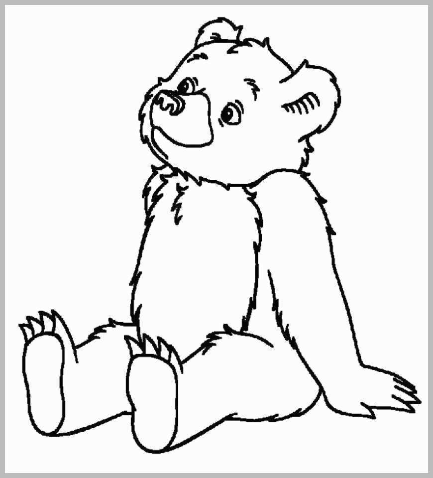 Teddy Bear Coloring Pages Coloring Pages Bear Coloring Pages