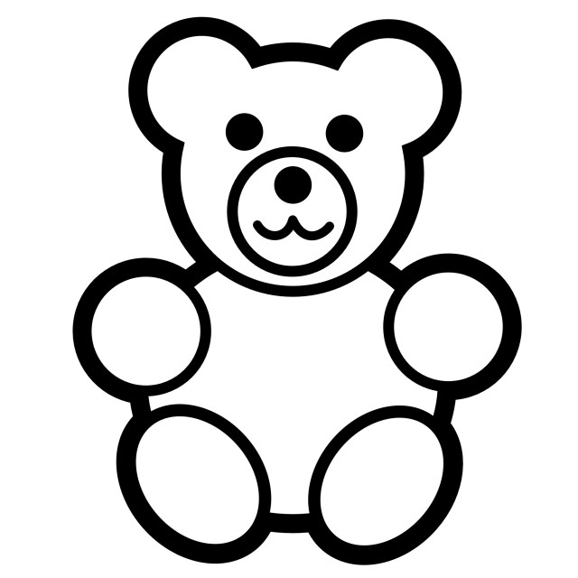 Teddy Bear Coloring Pages Free Printable Teddy Bear Coloring Pages For Kids