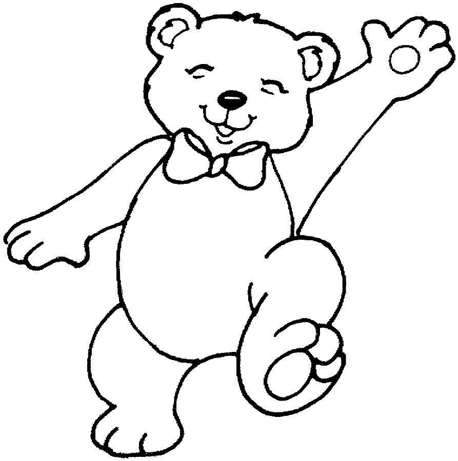 Teddy Bear Coloring Pages Teddy Bear Coloring Pages ...