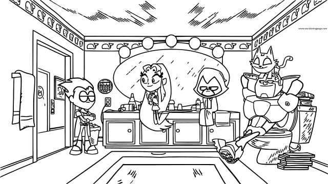 Teen Titans Coloring Pages Teen Titans Go Robin Serious Business Still Coloring Page