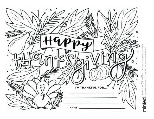 Thanksgiving Coloring Pages For Kids Free Thanksgiving Coloring Pages To Help Children Express Gratitude