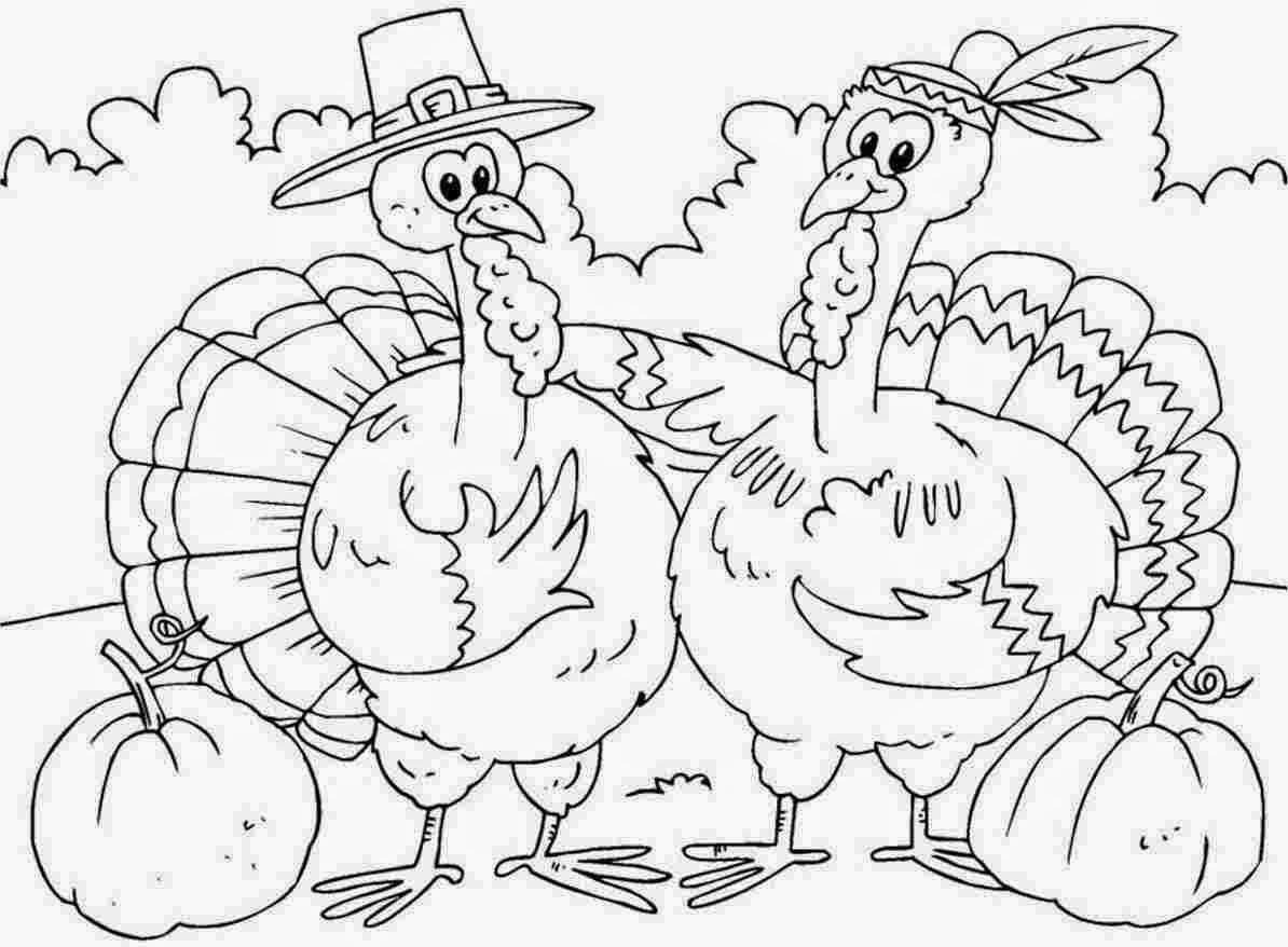 Thanksgiving Coloring Pages For Kids Thanksgiving Coloring ...